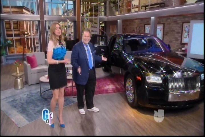 El Rolls Royce De Luis Miguel En «El Gordo Y La La Flaca»