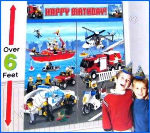 17 Best Images About Lego City Birthday Themed Party