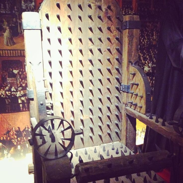 """stacini: """"Explored the Museum of Medieval Torture Instruments today in Bruges. Quite an eye opener. Actually an eye opener was pretty much the only tool they didn't have on display. #bruge #belgium #twistedandevil"""""""