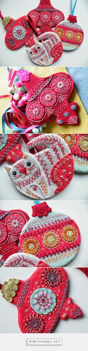 NANCY NICHOLSON: Christmas Bauble Tutorial 2014... - a grouped images picture - Pin Them All
