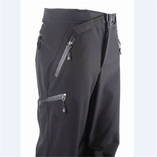 Top Offers $33.84, Buy outdoor Pants Hiking Climbing warm Fleece waterproof windproof Trousers Man Hot Brand medium thickness pants men Trousers male