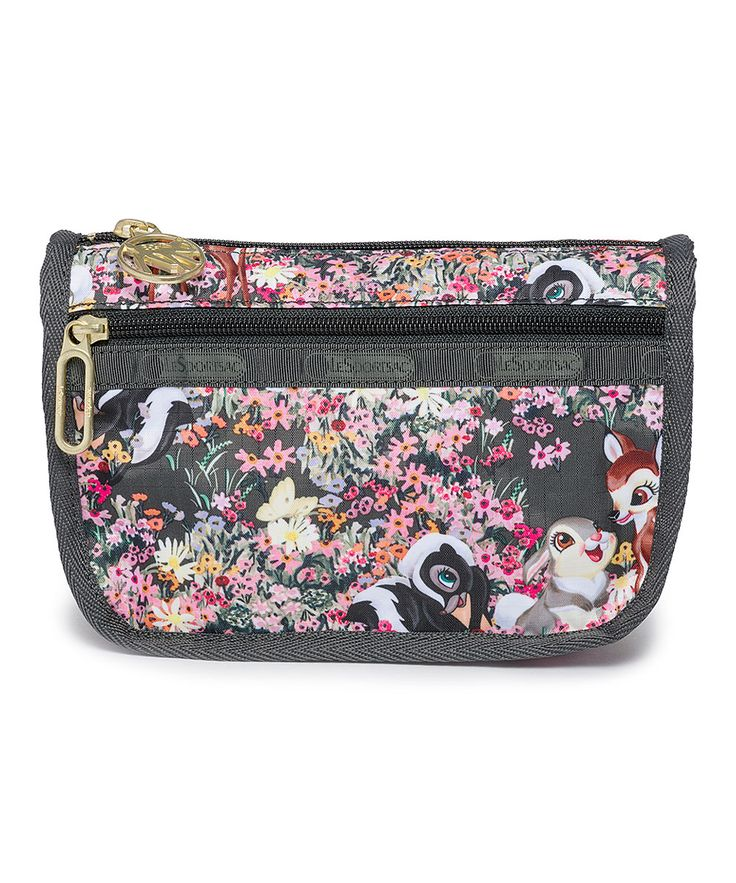 Bambi Floral Travel Cosmetic Bag Travel cosmetic bags, Bags