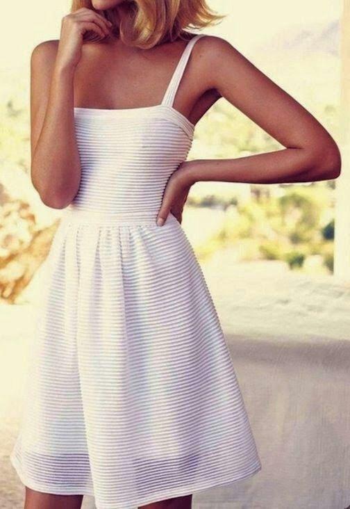 White summer dress   Tumblr