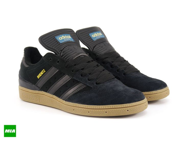 adidas Skateboarding Busenitz: Black/Gum