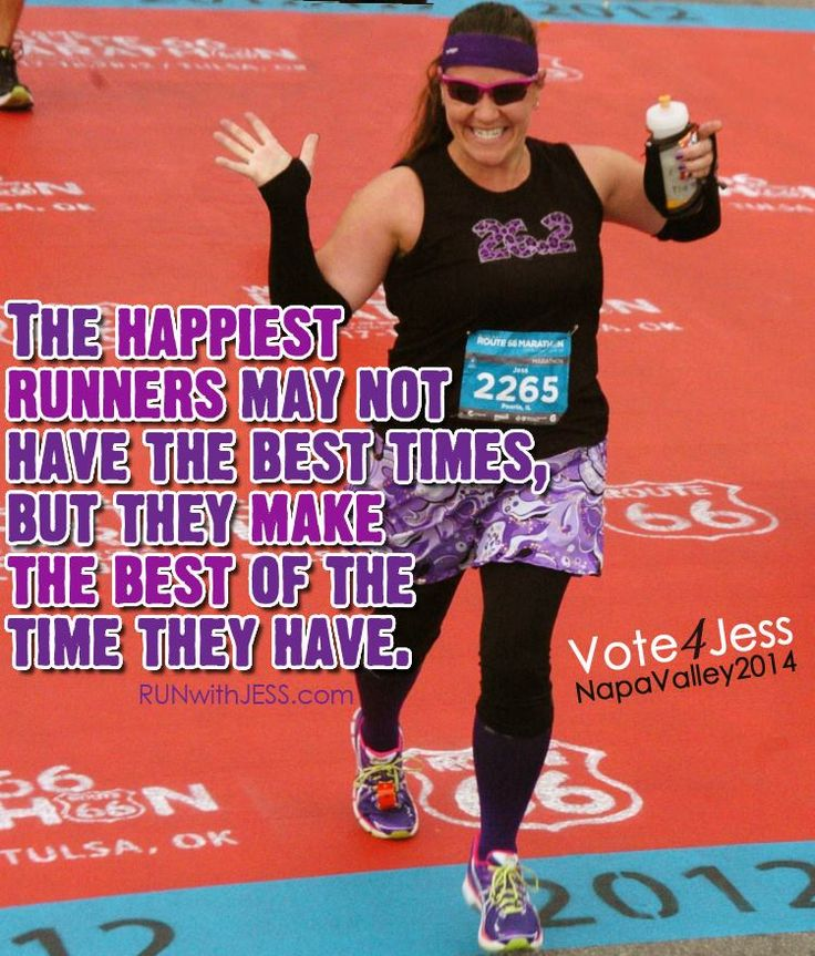 """One of my favorite races this year was not a """"good time"""" but was a """"good time""""  Sometimes that's all you need."""