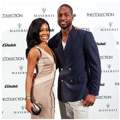 Gabrielle Union.  Basketball Player Dwayne Wade's Wife.