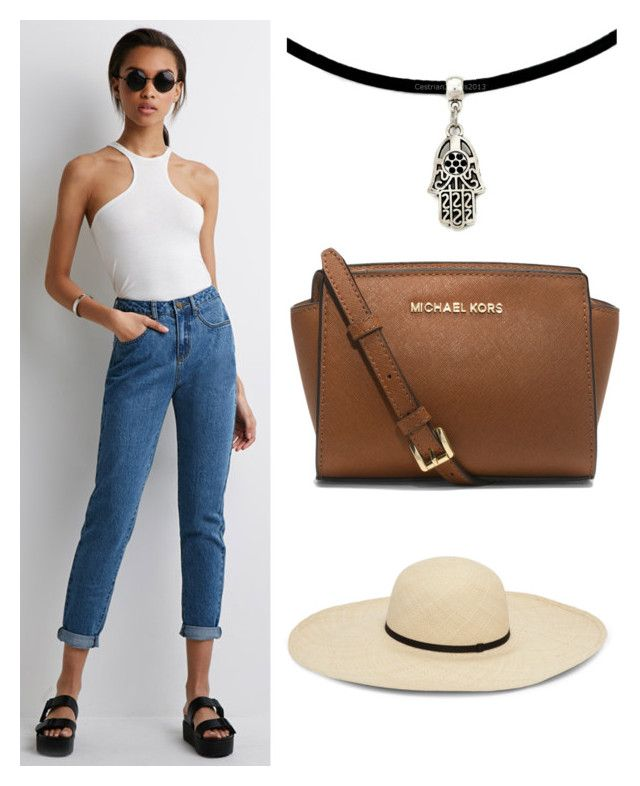 """""""Senza titolo #424"""" by kirsten-weigh on Polyvore featuring moda, Forever 21 e MICHAEL Michael Kors"""