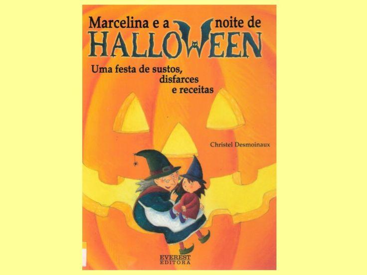 Title Slide of Marcelina e a noite de halloween