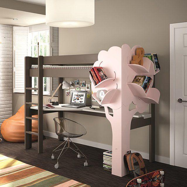 кровать для девочки #Интерьер #детскаякомната #Childrensroom #designs