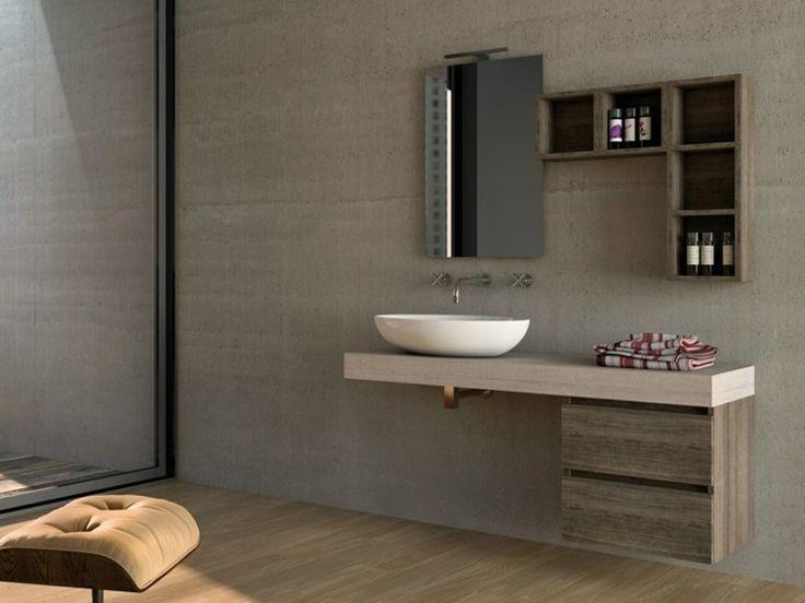 meuble en bois de design intéressant par Legnobagno