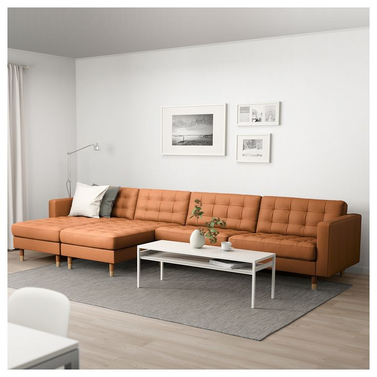 LANDSKRONA Sectional 5 seat with chaise Grann Bomstad