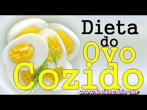 Dieta do ovo cozido: a sensação das redes socais!