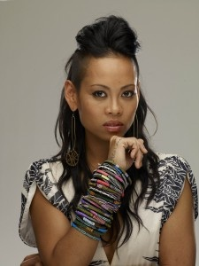 I loved Anya on Project Runway, she wore the coolest bunch of bracelets.