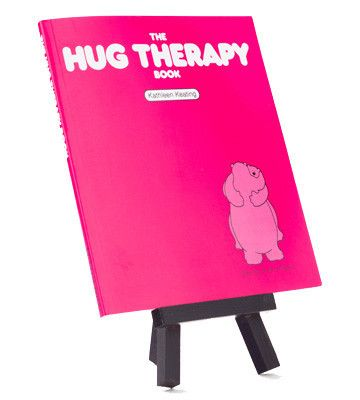 Both serious & whimsical this sentimental gift explains why all kinds of hugs have the most positive effect on us. It even includes wonderful sketches of different hug positions.