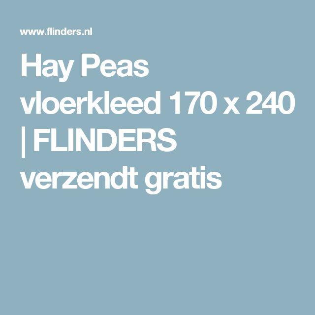 Hay Peas vloerkleed 170 x 240   FLINDERS verzendt gratis