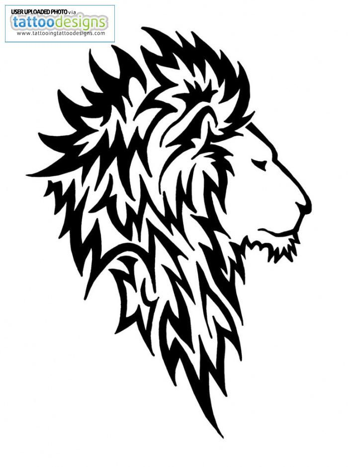 1000 ideas about tribal lion tattoo on pinterest lion