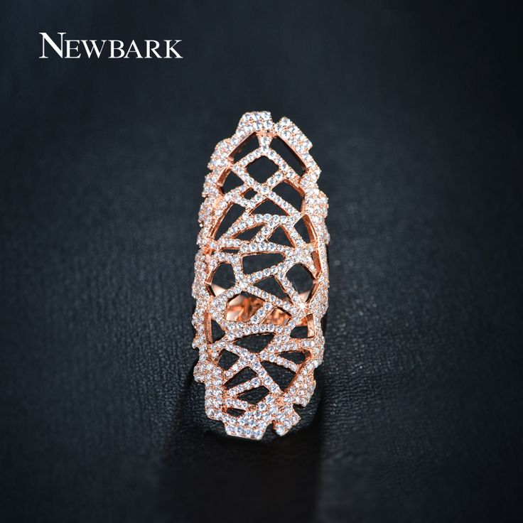 Find More Rings Information about NEWBARK Brand Full Mid Finger Rings With Fine…