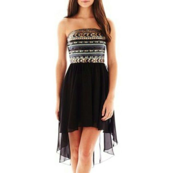 Love Reign Dress Love Reign sequin high- Low dress.  This dress is so beautiful I only used it one time. Super cute for any occasion. Love Reign Dresses High Low