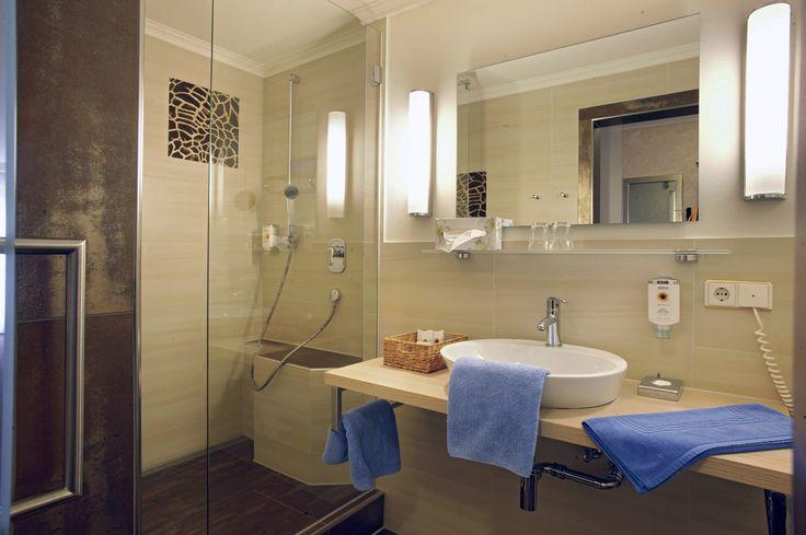 Badezimmer im Doppelzimmer Superior