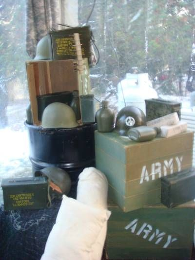 25 best ideas about army party decorations on pinterest for Army party decoration ideas