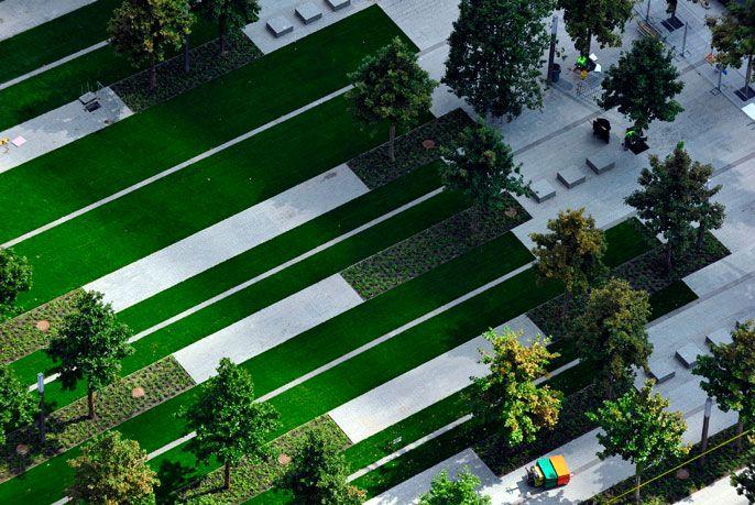 17 best images about peter walker landscape on pinterest for Outer space design landscape architects