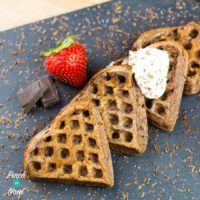 1 Syn Chocolate Waffles | SlimmingWorld - Pinch Of Nom
