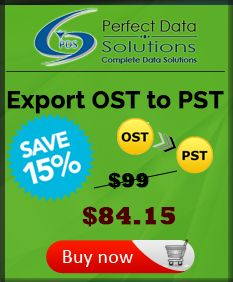 OST file converter software for effortless recovery of inaccessible OST file with conversion of OST data into PST, EML, MSG or HTML formats.