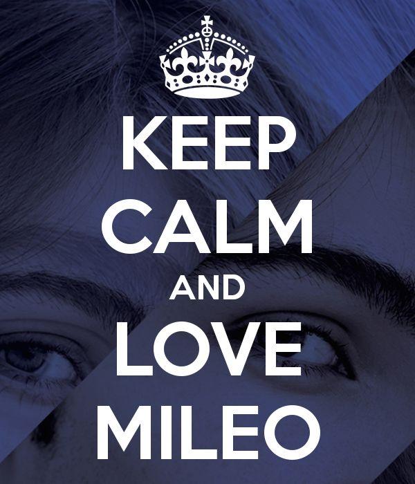 Mileo  Keep  CALM
