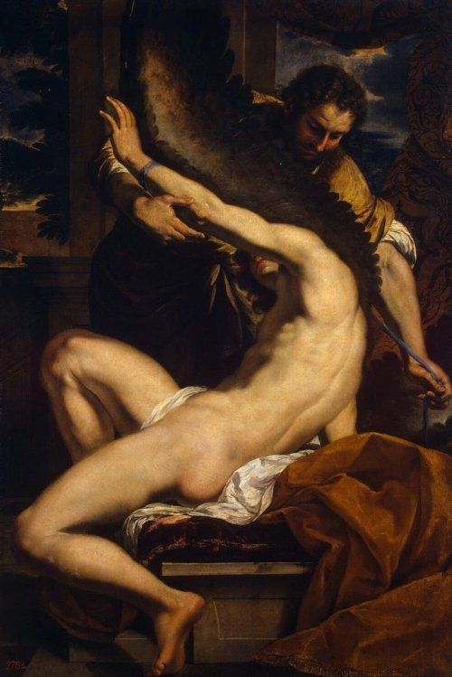 ca. 1645 - 'Daedalus and Icarus' by Charles Le Brun (French, Paris, 1619-1690)