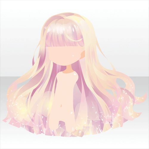 Anime hair   髪型のスケッチ, 髪 イラスト, 可愛い 髪型 イラスト