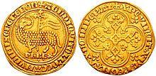 gnel d'or de Philippe le Bel frappée en 1311.