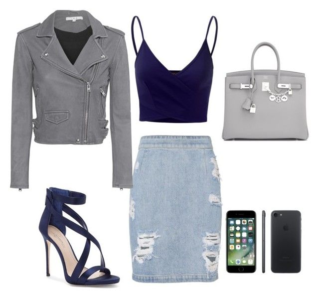 """""""Hot date"""" by lfumbani on Polyvore featuring IRO, Imagine by Vince Camuto, Doublju and Hermès"""