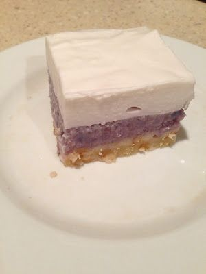 Okinawan Sweet Potato and Haupia Pie | She's Almost Always Hungry