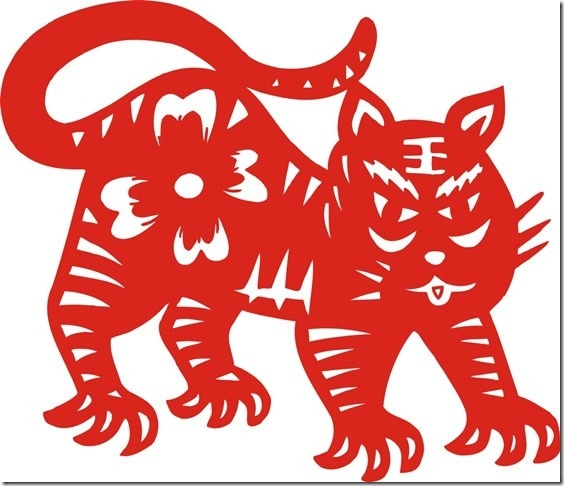 12 chinese zodiac signs tiger