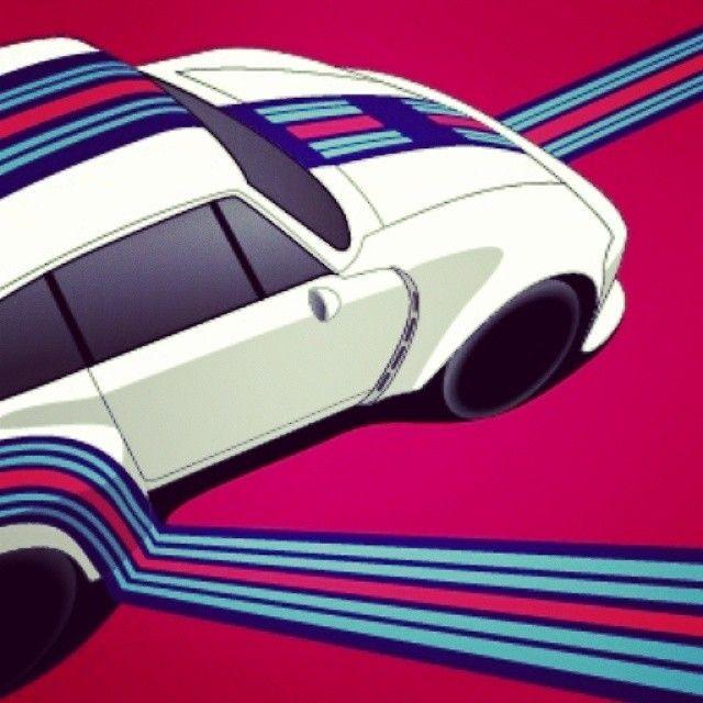 Martini Racing Stripes