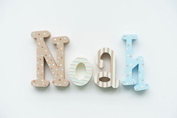 Türschilder - Türschild Buchstaben 3D Schriftzug - ein Designerstück von…
