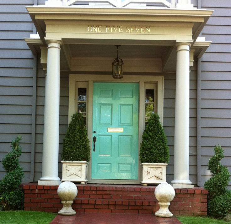 Front Door Letterbox: Best 25+ Turquoise Front Doors Ideas On Pinterest