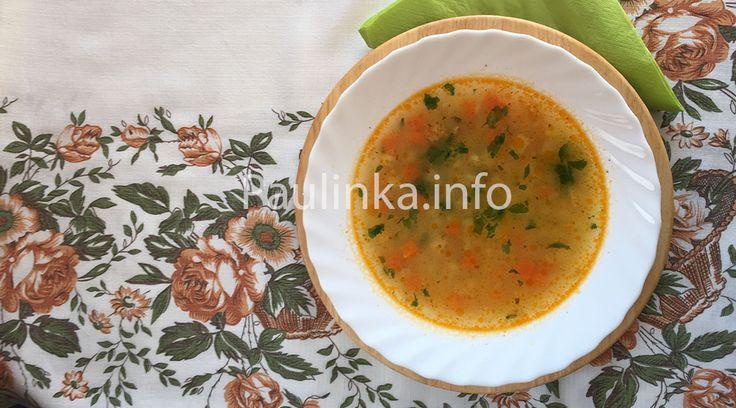 #Simple #Vegetable #soup #recipe - #Slovak cuisine - #Slovakia