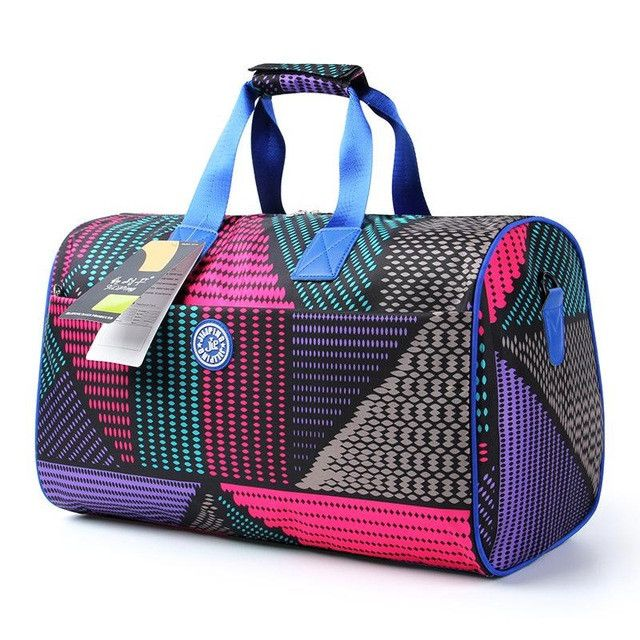 Brand New Women's sports bag Nylon waterproof Sport Gym Bags Training yoga mat Bag Women sports Shoulder bag for women gym fitness