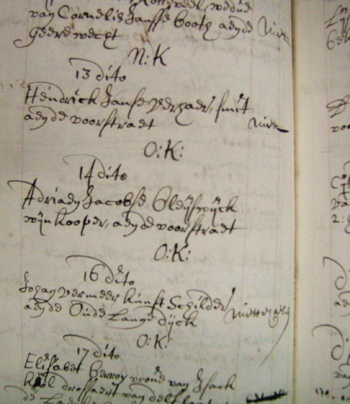 Boek van Kamer van Charitate (armeninstelling) met naam van Johannes Vermeer als bewijs dat hij was overleden als arme schilder.