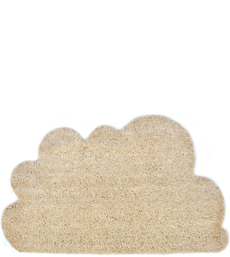 cloud doormat, $34