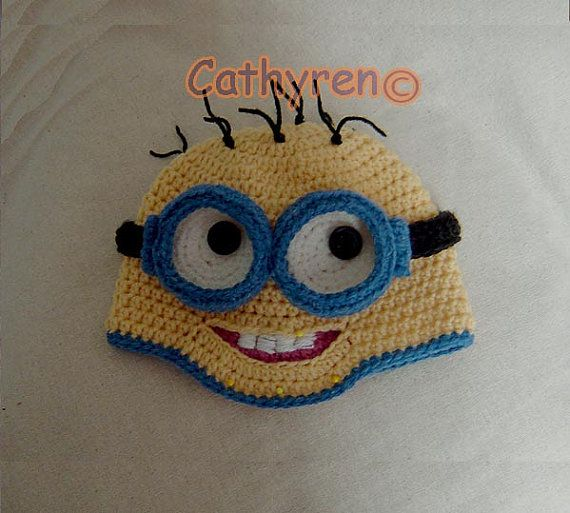 15 Best Despicable Me Minions Hat With Removable Goggles Images On