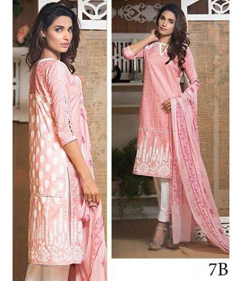 Signature Icon Embroidered Lawn Suit Collection Volume ll SI_7B
