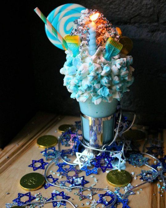 This New York City restaurant makes some of the craziest milkshakes you will ever see