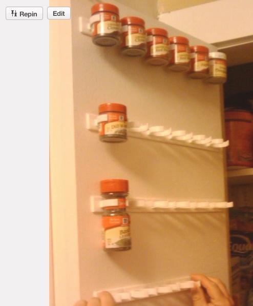 Spice rack idea...