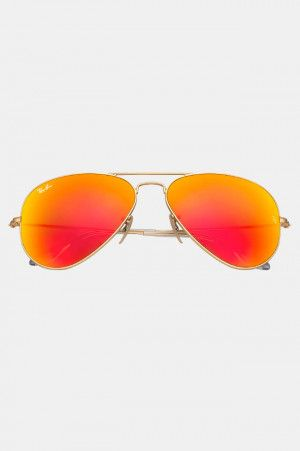 fc8d2de1a0 Lentes Ray Ban Originales Estilo Aviador Flash Naranja y Rojo. Si quieres  ver mas #