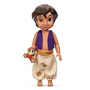 Disney Poupée Animator Aladdin | Disney StorePoup�e Animator Aladdin - Nos artistes Disney sont remont�s dans le temps pour imaginer Aladdin comme un petit gar�on espi�gle ! Cette charmante poup�e Animator Aladdin est v�tue d'une veste et d'un sarouel, et elle est accompagn�e d'une peluche Abu.