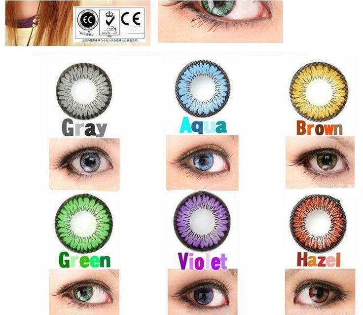 Wholesale soft Fresh cheap color contact lens / Plano ...