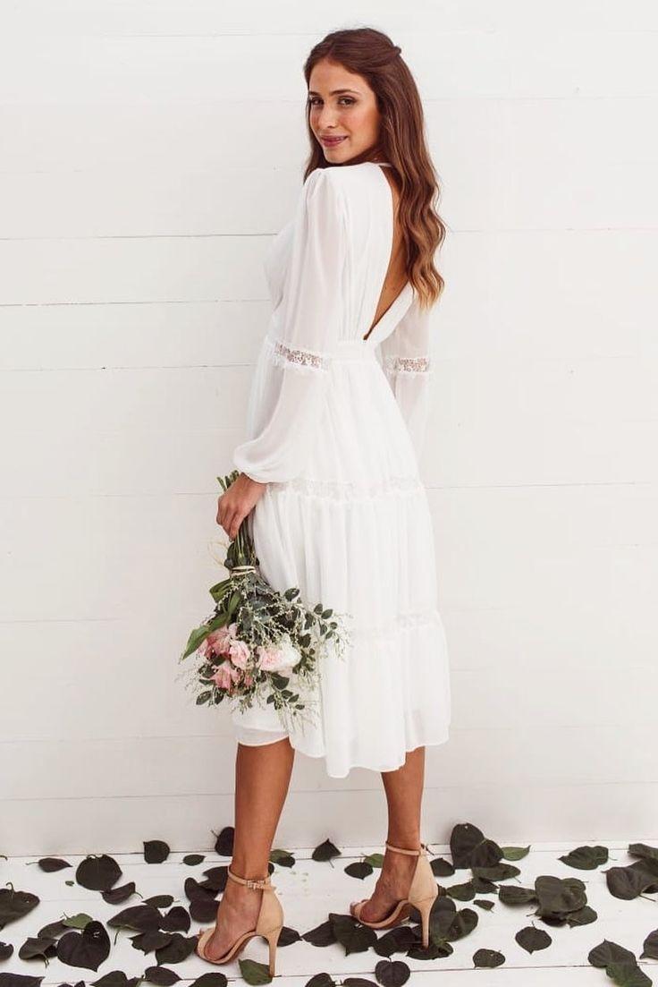 Vestido para casamento civil: 60 modelos para noivas | Vestido casamento civil, Vestido de noiva civil, Vestido para noivas casamento civil