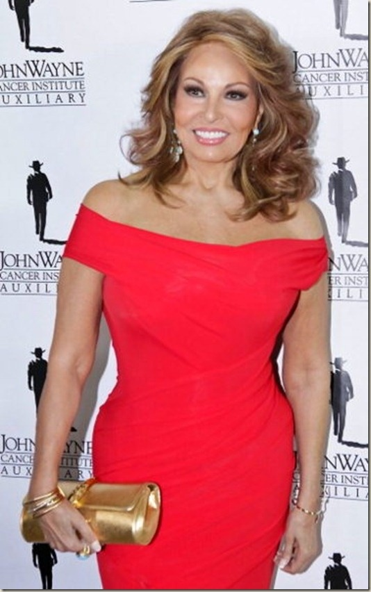 Raquel Welch- 72 years old - wow